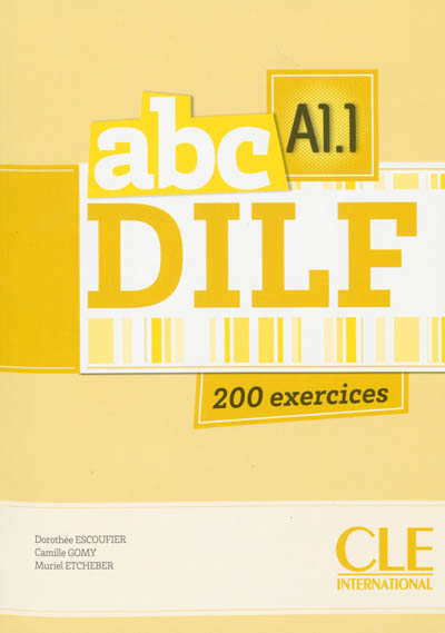 ABC DELF A1.1 + LIVRET + CD AUDIO