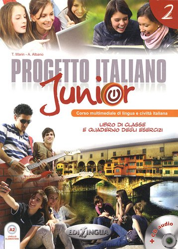 Progetto italiano Junior 2 - Libro dello Studente & Quaderno + CD Audio + DVD - 164 pages