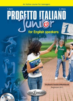Progetto italiano Junior 1 for English speakers Libro + CD Audio + DVD - 176 pages
