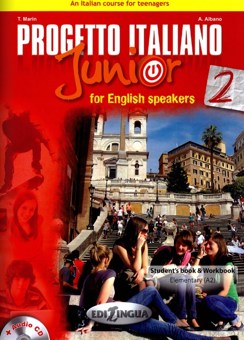Progetto italiano Junior 2 for English speaker - Libro + CD Audio + DVD - 172 pages