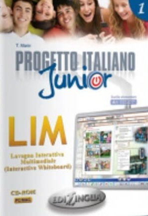 Progetto italiano Junior 1 - software per la lavagna interattiva (software for whiteboard)