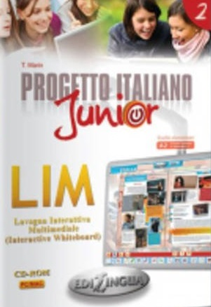 Progetto italiano Junior 2 - software per la lavagna interattiva (software for whiteboard)