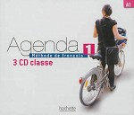 Agenda Niveau 1 CD audio classe (x3)