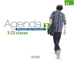 Agenda Niveau 2 CD audio classe (x3)