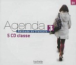 Agenda Niveau 3 CD audio classe (x5)