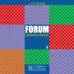 Forum Niveau 2 CD audio classe (x2)