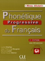 PHONETIQUE PROGRESSIVE DU FRANCAIS NIVEAU DEBUTANT 2ED + CD AUDIO