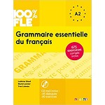 100% FLE GRAMMAIRE ESSENTIELLE DU FRANCAIS  A2  BOOK AND CD