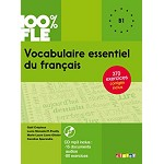 100% FLE VOCABULAIRE ESSENTIEL DU FRANCAIS B1  BOOK AND CD