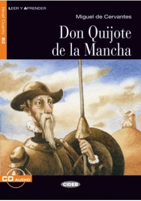 DON QUIJOTE MANCHA+CD   NEW EDITION  B2