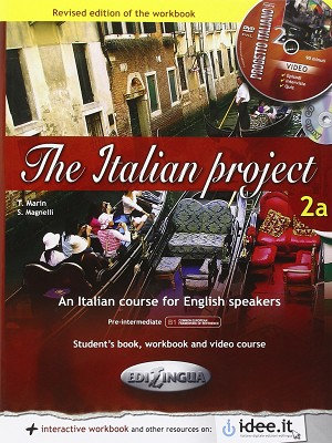 The Italian Project 2a - Student's book & Workbook (+ DVD) - 184 pages