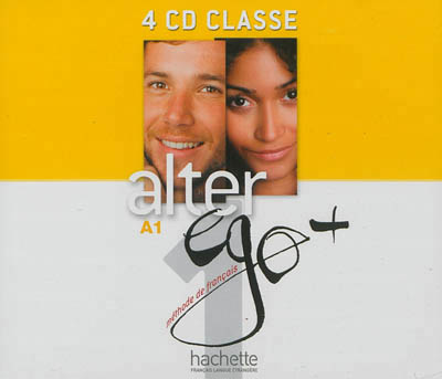 Alter Ego + Niveau 1 CD audio classe (x4)