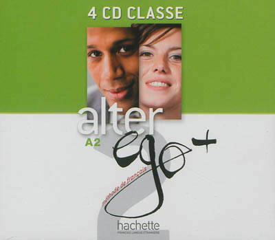 Alter Ego + Niveau 2 CD audio classe (x4)
