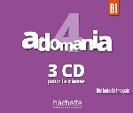 Adomania Niveau 4 CD audio classe