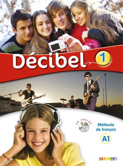 DECIBEL 1  LIVRE CD DVD