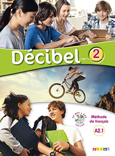 DECIBEL 2  LIVRE CD DVD
