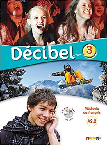 DECIBEL 3  LIVRE CD DVD