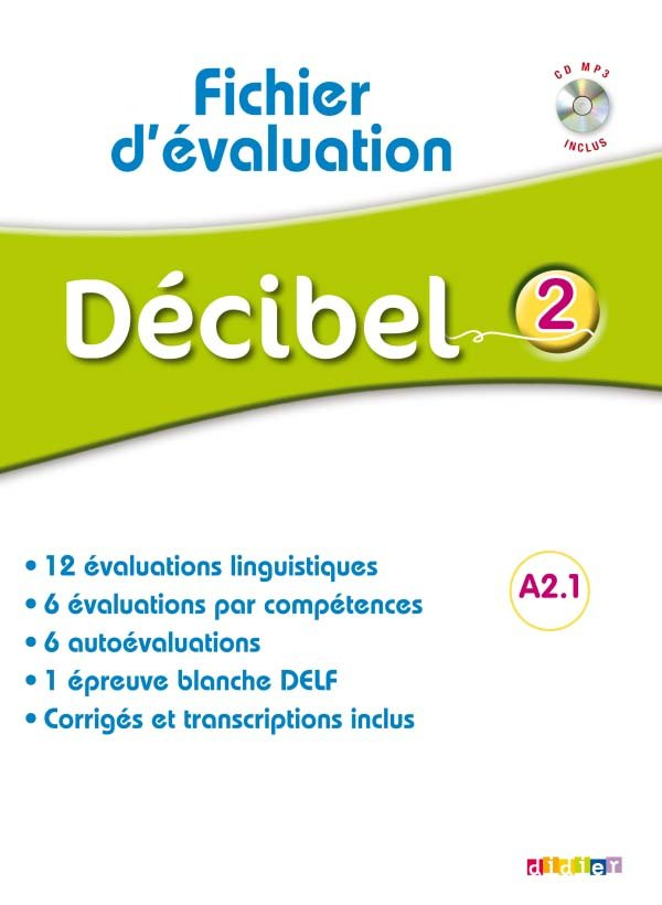 DECIBEL 2  FICHIER EVALUATION + CD