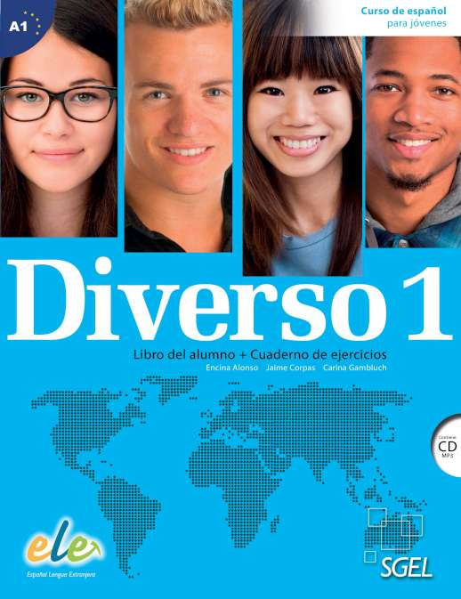 DIVERSO 1 Student's book+Workbook+CD