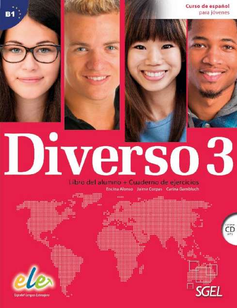DIVERSO 3 Student's book+WorkbookC+CD