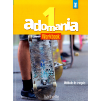 Adomania 1 Workbook & CD & Parcours Digital Code - English Version
